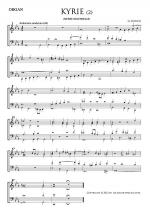 Kyrie - Organ Part 2 (Messe Solenelle) Sheet Music