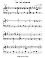 The Easy Winners (Arr. for Early Int.) Sheet Music