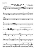 Samba. . .alla Turca! For Percussion Ensemble Sheet Music