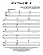 Don't Wake Me Up Sheet Music