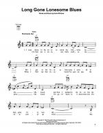 Long Gone Lonesome Blues Sheet Music