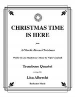 Christmas Time Is Here for Trombone Quartet Sheet Music