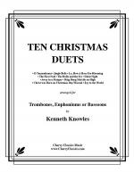 Ten Christmas Duets for Trombone or Euphonium Sheet Music
