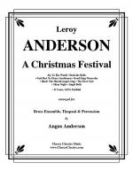 A Christmas Festival for Brass Ensemble, Timpani & Percussion Sheet Music