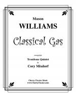 Classical Gas for Trombone Quintet Sheet Music
