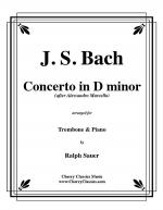 Concerto in D minor for Trombone & Piano Sheet Music