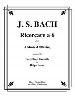 Ricercare a 6 for 14 part Brass Ensemble Sheet Music