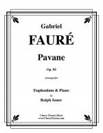 Pavane, Op. 50 for Euphonium and Piano Sheet Music