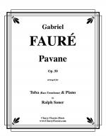 Pavane, Op. 50 for Tuba or Bass Trombone and Piano Sheet Music