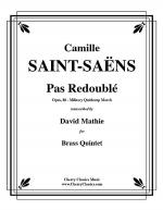 Pas Redouble Military Quickstep March for Brass Quintet Sheet Music