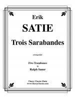 Trois Sarabandes for 5 Trombones Sheet Music