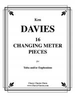 16 Changing Meter Pieces for Tuba and/or Euphonium (Baritone) Sheet Music