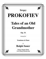 Tales of an Old Grandmother, Op. 31 for Trombone & Piano Sheet Music