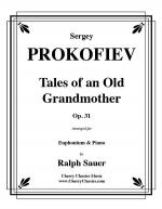 Tales of an Old Grandmother, Op. 31 for Euphonium & Piano Sheet Music