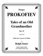 Tales of an Old Grandmother, Op. 31 for Tuba or Bass Trombone & Piano Sheet Music