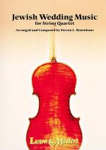 Jewish Wedding Music for String Quartet Sheet Music