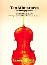 Ten Miniatures for String Quartet Sheet Music