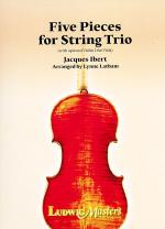 Five String Pieces for String Trio Sheet Music