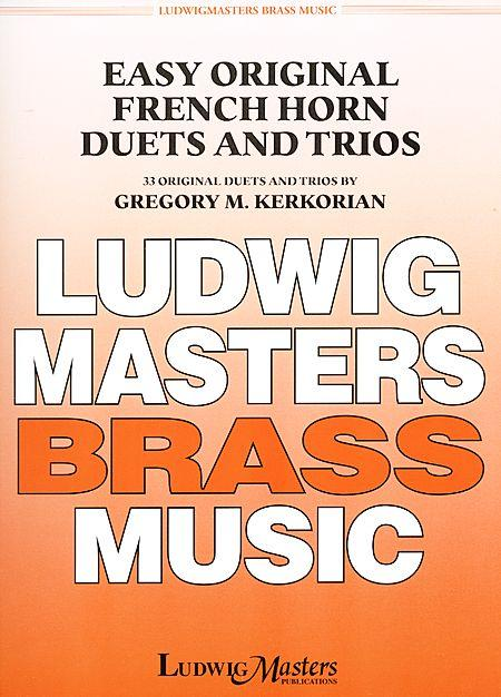 Easy Original French Horn Duets and Trios Sheet Music