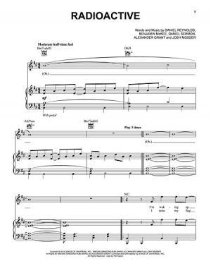 Drum drum tabs for radioactive : Radioactive - Snare Drum Sheet Music