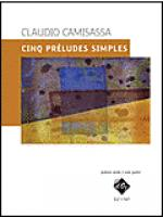 Cinq preludes simples Sheet Music