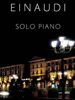 Ludovico Einaudi - Solo Piano Sheet Music