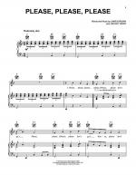 Please, Please, Please Sheet Music