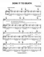Doin' It To Death Sheet Music
