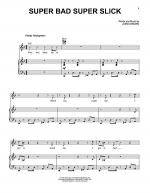 Super Bad Super Slick Sheet Music