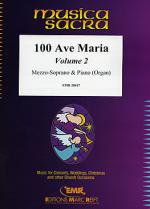 100 Ave Maria Volume 2 (Mezzo-Soprano) Sheet Music