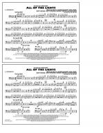 All Of The Lights - 1st Trombone Sheet Music
