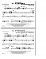 All Of The Lights - Multiple Bass Drums Sheet Music