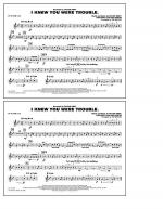 I Knew You Were Trouble - Bb Tenor Sax Sheet Music