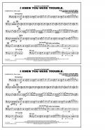 I Knew You Were Trouble - Baritone B.C. (Opt. Tbn. 2) Sheet Music