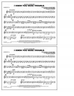 I Knew You Were Trouble - Baritone T.C. Sheet Music