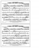 I Knew You Were Trouble - Multiple Bass Drums Sheet Music