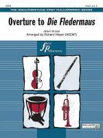 Overture to Die Fledermaus Sheet Music