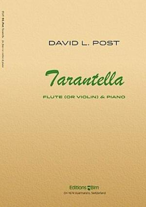 Tarantella For Cello And Piano Sheet Music