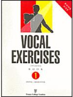 Vocal exercises, Book 1 (Initial-Grade 4) Sheet Music