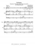 Te Deum Sheet Music