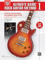 Alfred's Basic Rock Guitar, Book 1 Sheet Music