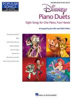 Disney Piano Duets Sheet Music