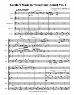 Comfort Music for Woodwind Quintet Vol I Sheet Music