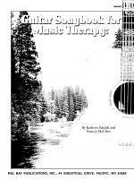 Guitar Songbook for Music Therapy Sheet Music