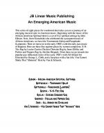 An Emerging American Music for clarinet duet Sheet Music