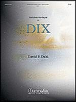 Variations for Organ on DIX Sheet Music
