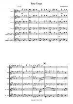 Tasty Tango for Flute Quartet Sheet Music
