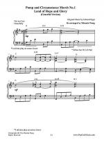 Pomp and Circumstance March No.1 (Land of Hope and Glory) - Graceful Version Sheet Music