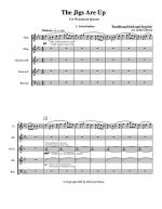 The Jigs are Up - Celtic Music for Woodwind Quintet Sheet Music