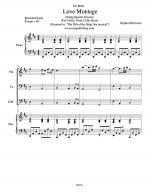 Love Montage (String Quartet Version) Sheet Music